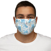 Load image into Gallery viewer, Plastic Debris Snug-Fit Polyester Face Mask