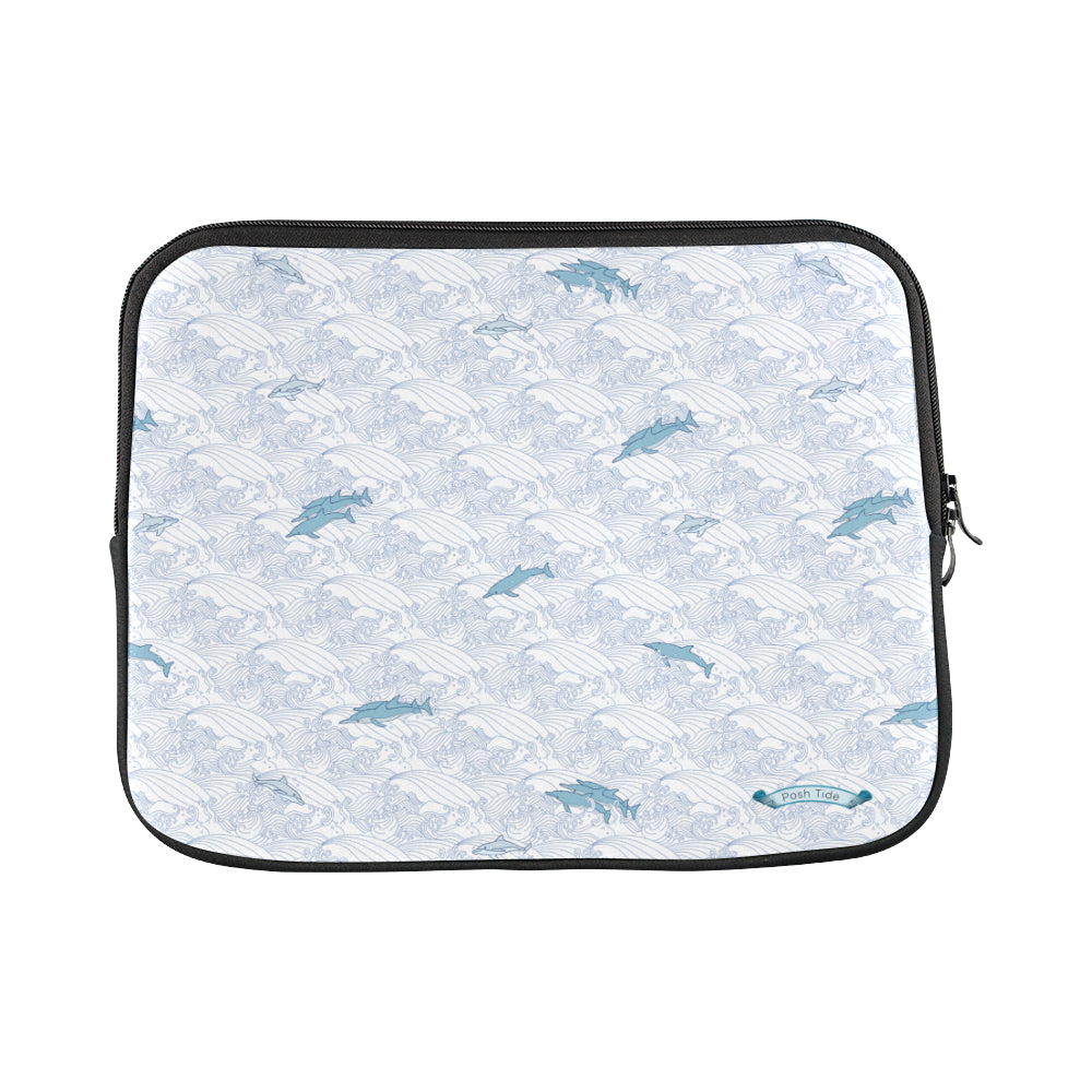Dolphins on Waves Custom Laptop Sleeve 13