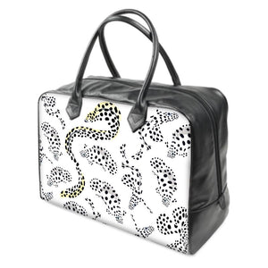 Pale Spotted Fish Holdall Bag