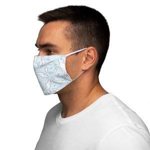 Belugas Snug-Fit Polyester Face Mask