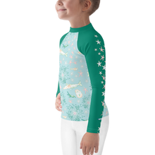 Load image into Gallery viewer, Antarctica Kids Rash Guard 2T-7