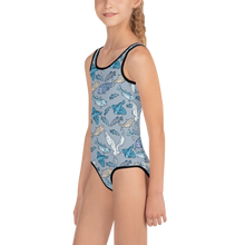 Load image into Gallery viewer, Atlantic Creatures Kids Swimsuit 2T-7