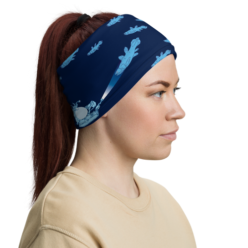Coelacanthus with Submarines Neck Gaiter
