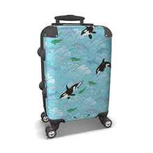Load image into Gallery viewer, Dolphins and Orcas Luggage