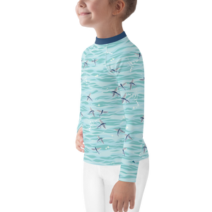 Flying Fish Rash Guard Kids 2T-7