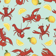 Load image into Gallery viewer, Lobsters and Lemons Women's Rash Guard