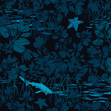 Load image into Gallery viewer, Mangroves at Night Youth Rash Guard