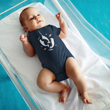 Load image into Gallery viewer, Narwhal + Belugas Infant Fine Jersey Bodysuit