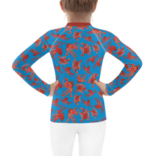 Load image into Gallery viewer, Octopus Rash Guard Kids 2T-7