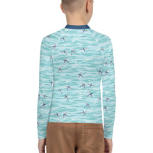 Load image into Gallery viewer, Flying Fish Youth Rash Guard
