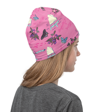 Load image into Gallery viewer, Sailboats on Pink Neck Gaiter