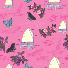 Load image into Gallery viewer, Sailboats on Pink Neck Gaitor