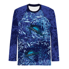 Load image into Gallery viewer, Sailfish on Dark Men's Rash Guard
