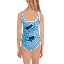 Load image into Gallery viewer, Sailfish on Light Kids Swimsuit 2T-7