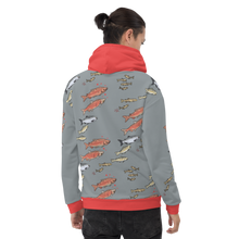 Load image into Gallery viewer, Salmon Unisex Hoodie