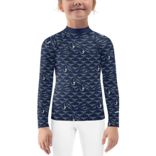 Load image into Gallery viewer, Sawfish Rash Guard Kids 2T-7