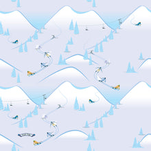Load image into Gallery viewer, Skiers on Snow Mountains Neck Gaiter