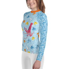 Load image into Gallery viewer, Squids Youth Rash Guard