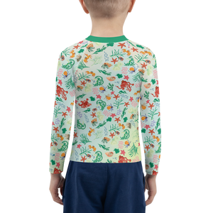 Tidepool Rash Guard Kids 2T-7