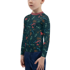 Ugly Fish Rash Guard Kids 2T-7