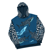 Load image into Gallery viewer, Whale Shark Unisex Hoodie