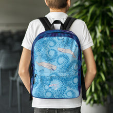 Load image into Gallery viewer, Whales and Squids Backpack