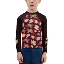 Load image into Gallery viewer, Handfish Kids Rash Guard 2T-7