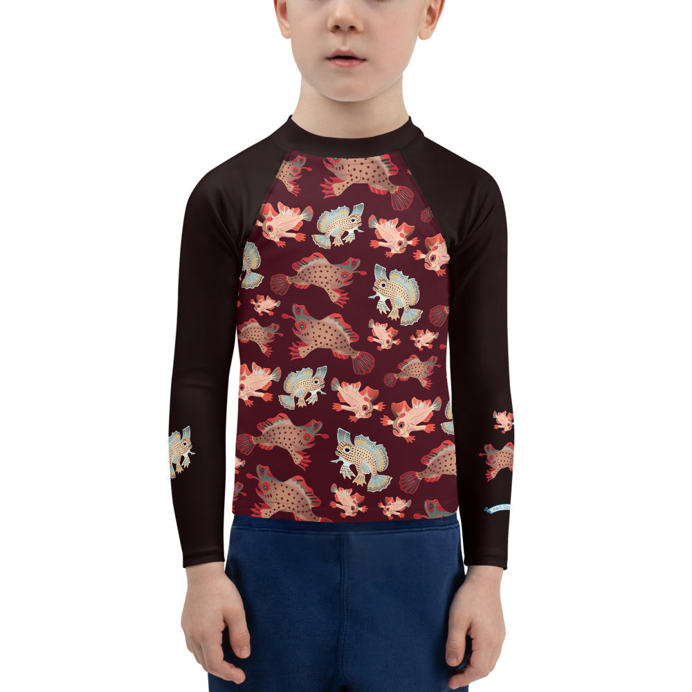 Handfish Kids Rash Guard 2T-7