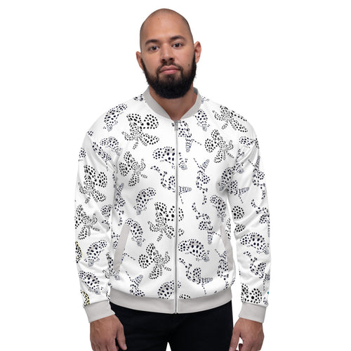 Pale Fish Unisex Bomber Jacket
