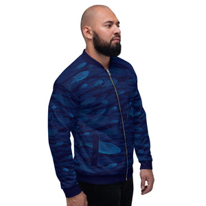 Tuna School Unisex Bomber Jacket