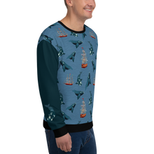 Load image into Gallery viewer, Whales - Right Whales Unisex Sweatshirt