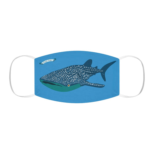 Whale Shark Snug-Fit Polyester Face Mask