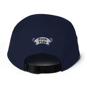 Dolphin Jumping 5 Panel Camper Hat
