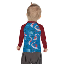 Load image into Gallery viewer, Oarfish Kids Rash Guard