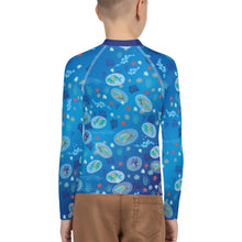 Load image into Gallery viewer, Parrotfish Sleeping Youth Rash Guard