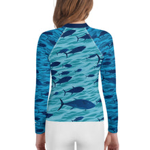 Load image into Gallery viewer, Tuna Youth Rash Guard