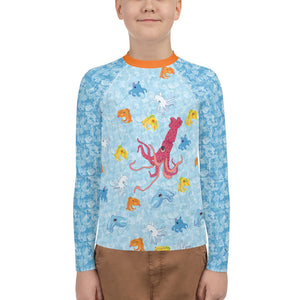 Squids Youth Rash Guard