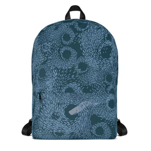 Schools of Fish with Whales Backpack
