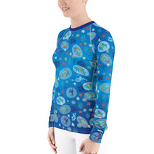 Load image into Gallery viewer, Parrot Fish Rash Guard Women's