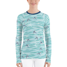 Load image into Gallery viewer, Flying Fish Rash Guard Women's