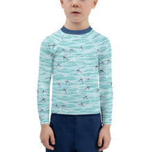 Load image into Gallery viewer, Flying Fish Rash Guard Kids 2T-7