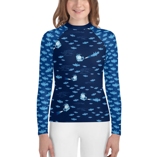 Coelacanthus Youth Rash Guard