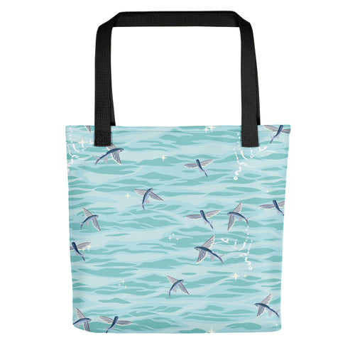Flying Fish Tote bag