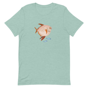 Moonfish & Halfmoon Fish Short-Sleeve Unisex T-Shirt