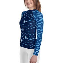 Load image into Gallery viewer, Coelacanthus Youth Rash Guard
