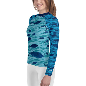 Tuna Youth Rash Guard
