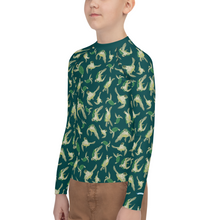 Load image into Gallery viewer, Turtle Youth Rash Guard
