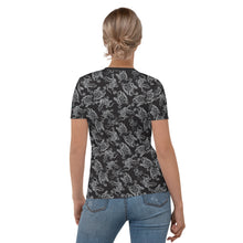 Load image into Gallery viewer, Octopus in B&W Women's T-shirt