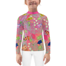 Load image into Gallery viewer, Coral Rash Guard Kids 2T-7