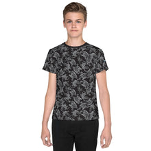 Load image into Gallery viewer, Octopus in B&W Kids/Teens T-Shirt